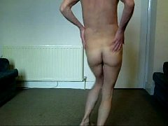 BOY DANCES NUDE !!