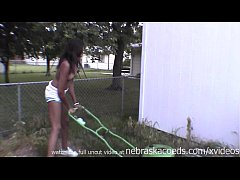super hot black midwest girl naked in public