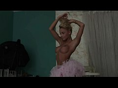 Blonde babe Julia Reutova arousing us in this erotic HD video