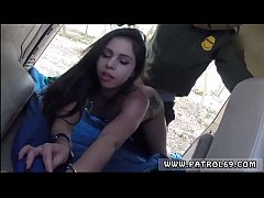 Police woman  and fake taxi police revenge Pale Cutie Banging on the