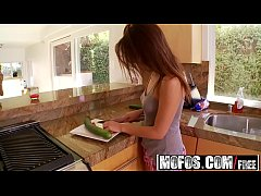 Mofos - Shes A Freak - Curvy Cooking Cutie starring  Sara Luvv