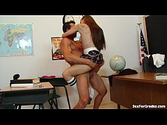Cute Teen Fucking Her Teacher!