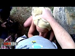 Finnish  blonde tourist fucked hard in the ass and squirting