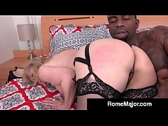 HD Rome Major Rams Blonde Milf Nina Hartley With BBC!