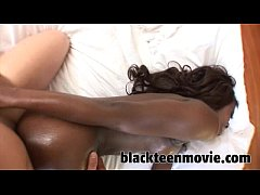 1st Time Ebony teen amateur fucking and sucking in Black Hardcore Sex Video