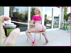 BANGBROS - Blonde Pornstar Annika Albrite Gets Her Juicy Big Ass Fucked