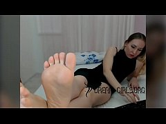 Perfect Pale Wrinkled Soles Milf