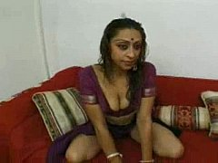 Hot Indian Girl Takes Two