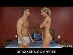 sexy blond milf brandi love is massaged and fucked by her masseur