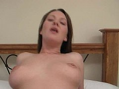 sdBrunette gets mouth full of cum