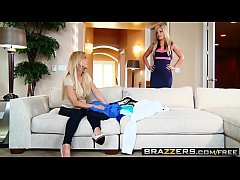 Brazzers - Mommy Got Boobs - Meddling Mother-In-Law scene starring Amber Lynn and Bradley Remington