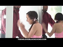 TeensLoveBlackCocks - Small-frame latina loves Big black cock
