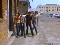 Vintage Gay Action On City Streets