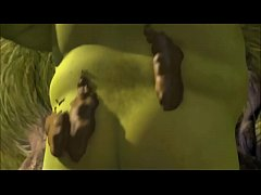 Shrek's dirty and muddy shower.