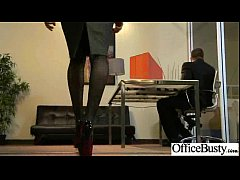 Cute Girl With Big Tits Get Seduced And Banged In Office movie-04