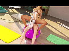 Futa fuck futanari Yoga Class Reincarnation Of The Feminine trailer