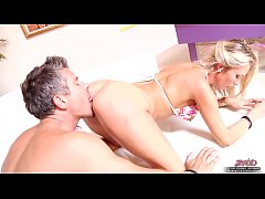 Blonde Beauty Banged By Older Guy