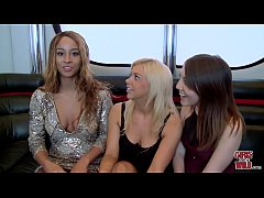 GIRLS GONE WILD - Interracial Lesbian Threesome With Young New Friends