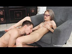TeenMegaWorld.net - Herda Wisky - The Random Sex Encounter with a Nerdy Blonde