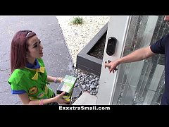 ExxxtraSmall - Tiny Girl Scout Fucked By Huge Cock