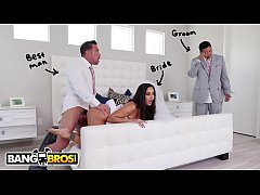 BANGBROS - Big Tits MILF Ava Addams Fucks The Best Man On Her Wedding Day