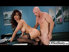 Sex In Office With Busty Slut Horny Girl (Isis Love) vid-26