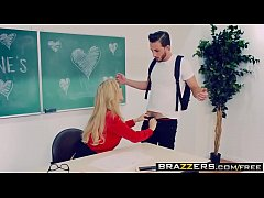 Brazzers - Big Tits at School -  Desperate For V-Day Dick scene starring Brandi Love and Lucas Frost