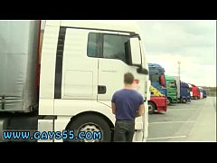 sex gay fuck saykov and greg met up at the truck-stop for some one on