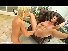 Jesika Gold is violated by Mandy Bright