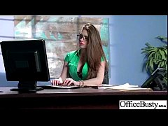 Office Slut Girl (veronica vain) With Big Tits Love Hard Bang clip-30