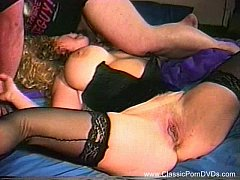 Dirty Threesome With Vintage Busty MILF