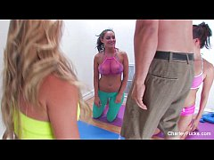 Charley Chase Naughty Three-Way Blowjob