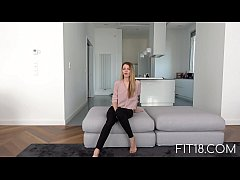 Fit18 - Mary Kalisy Skinny Fashion Model Comes In For Casting