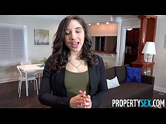 HD PropertySex - College student fucks hot ass real estate agent