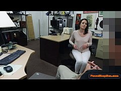 This good hot wife gets fucked by the Pawnshop owner