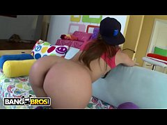BANGBROS - Young And Cute Pornstar Takes A Big Dick Up Her Tight Little Ass Hole