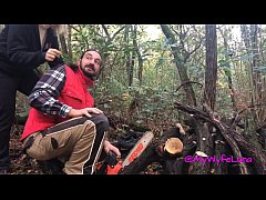 HD Milf buggered by the lumberjack for good