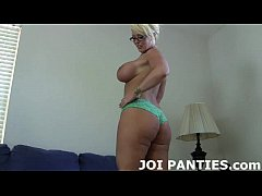Let me model my hot new polka dot panties for you JOI