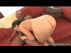Black guy fucking white girl her big