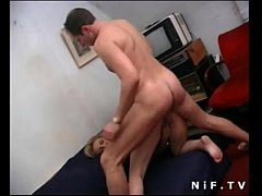 horny french blonde gets sodomized