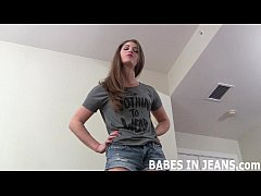 You cant keep your eyes off my ass in jeans JOI