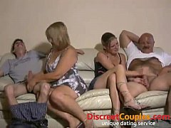 Swingers blowjob party