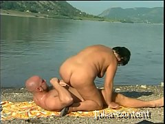 Milf -Fuck and pissing at lake