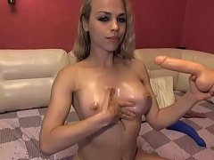sexy camslut candyL supreme anal deepthroat gag cumshow - analcams.tv