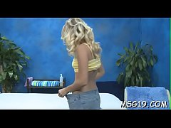 Marvelous sex doll with tanned body rides dick incredibly hard