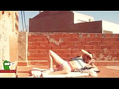 Fucking under the summer sun on the rooftop ADR0465