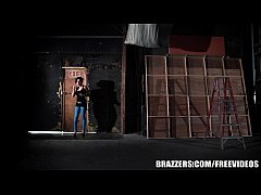 Brazzers - Eva ass fucked in a warehouse