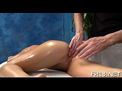 See as those cute 18 year old girls get a surprise happy ending by their massage therapist!