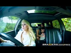 Brazzers - Moms in control - (Angel Wicky, Jimena Lago, Sam Bourne) - Teens In The Backseat - Trailer preview
