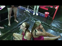Men horde uses teen and milf as living toilets! Part 4